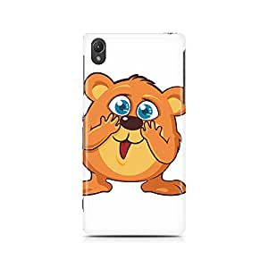 Motivatebox - Sony Xperia M4 Back Cover - Toon Rat Polycarbonate 3D Hard case protective back cover. Premium Quality designer Printed 3D Matte finish hard case back cover.