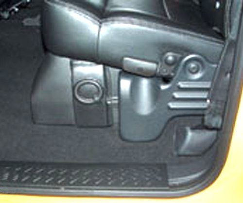Ford Supercab Supercrew Custom (Black) Q-Customs Subwoofer Enclosure Unloaded Holds 1-10 Sub Q-Logic Ftx110