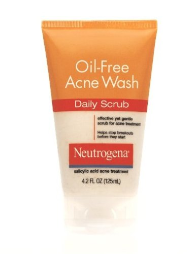 Neutrogena Oil-Free Acne Wash Daily Scrub, 4.2 Ounce (Pack Of 3) front-494351