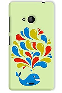 IndiaRangDe Hard Back Cover FOR Microsoft Nokia Lumia 540