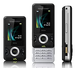 sony ericsson w205 t l phone portable clapet coulissant op rateur sfr high tech. Black Bedroom Furniture Sets. Home Design Ideas