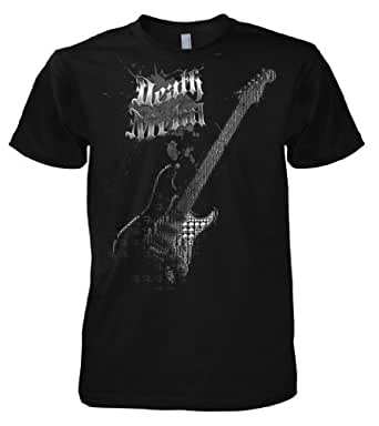 Rock Style Death Metal Guitar 701369 T-Shirt S