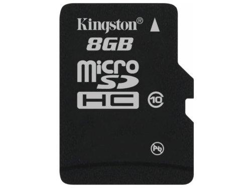 Kingston 8 GB  Flash Memory Card SDC10/8GBSP