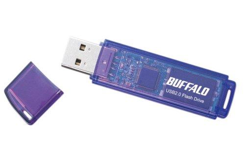 Buffalo USBメモリ エントリータイプ ブルーモデル 2GB RUF2-E2GL-BL