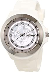 Ed Hardy Women's MT-LTD Mist White Watch