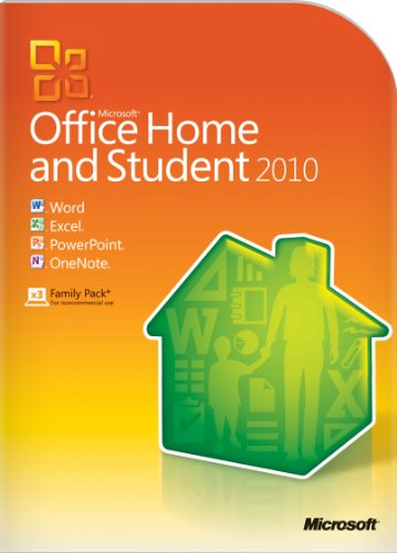 Microsoft Office Home & Student 2010 - 3PC/1User
