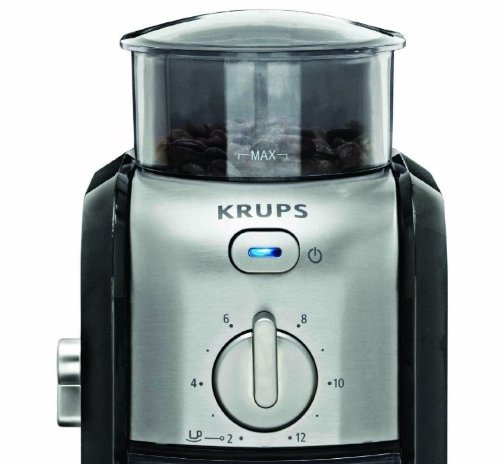 Vacuum Coffee Maker Grind Size : KRUPS GVX212 Coffee Grinder with Grind Size and Cup Selection and Stainless New eBay