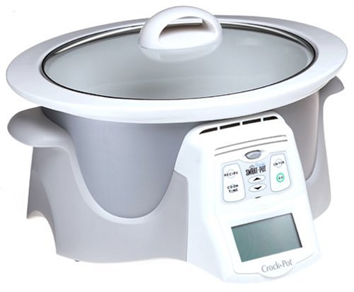 Digital Slow Cookers: Crock-Pot 4865-W Recipe Smart-Pot Slow Cooker, Chrome