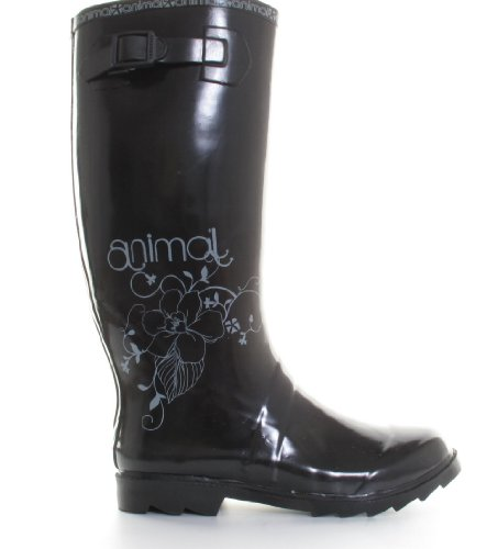 Animal Black Festival Wellies
