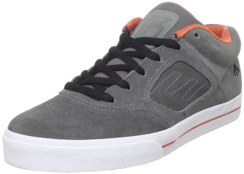 Emerica Reynolds 3 Dark Grey/Black/Orange Skate Shoes Trainers UK 10