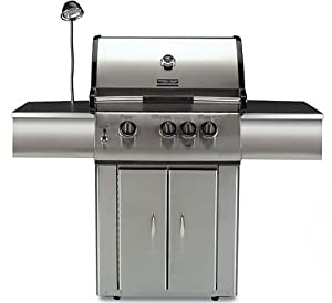 Vermont Castings Signature Series 3Burner Propane Gas Grill, Side Burne,R Back Burner, Rotisserie Vcs323ssp