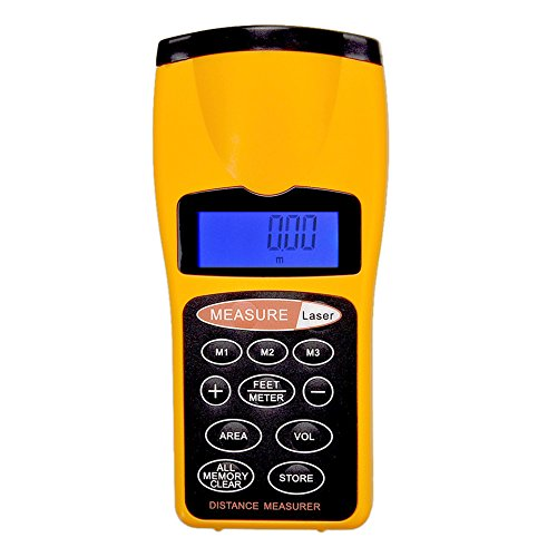 New CP-3007 LCD Ultrasonic Laser Meter Pointer
