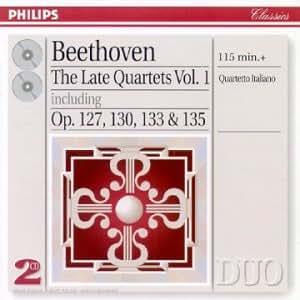 Beethoven - Les derniers quatuors à corde, Vol. 1 : Op. 127, 130, 133 et 135