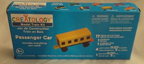 Creatology Model Train Kit Passenger Car - 1