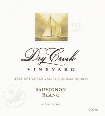 2013 Dry Creek Vineyard Sauvignon Blanc, Dry Creek Valley 750 mL by Dry Creek Vineyard
