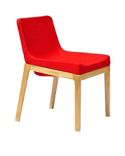 International Design USA Soho Dining Chair, Red