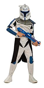 Star Wars Clone Wars Clone Trooper Child's Captain Rex Costume, Small