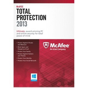 McAfee Total Protection 2013 - 1 PC, 12 month Subscription (PC)