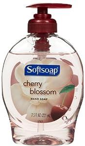 Softsoap Liquid Hand Soap, Cherry Blossom, 7.50-Ounce