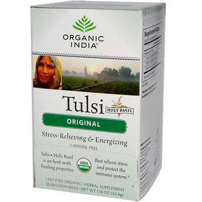 Organic India - Tulsi Tea Original - 18 Tea Bags