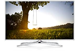 Samsung UE46F6510 116 cm (46 Zoll) 3D-LED-Backlight-Fernseher (Full HD, 400Hz CMR, DVB-T/C/S2, CI+, WLAN, Smart TV, HbbTV, Sprachsteuerung) hochglanz-weiß