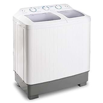 klarstein mnw db4 camping waschmaschine mit schleuder f r studenten singles mit 5 8kg. Black Bedroom Furniture Sets. Home Design Ideas