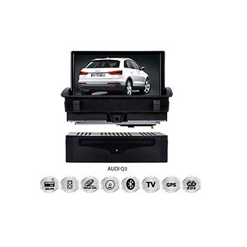 Realmedia Audi Q3 Oem Digital Touch Screen Car Stereo 3D Navigation Gps Dvd Tv Usb Sd Ipod Bluetooth Hands-Free Multimedia Player +++With Realmediashop Germany Warranty+++