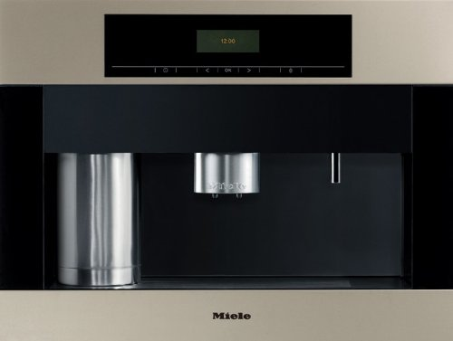 Miele : CVA4070SS / CVA4062SS 24 Whole Bean/Ground Built-In Coffee System - Stainless Steel