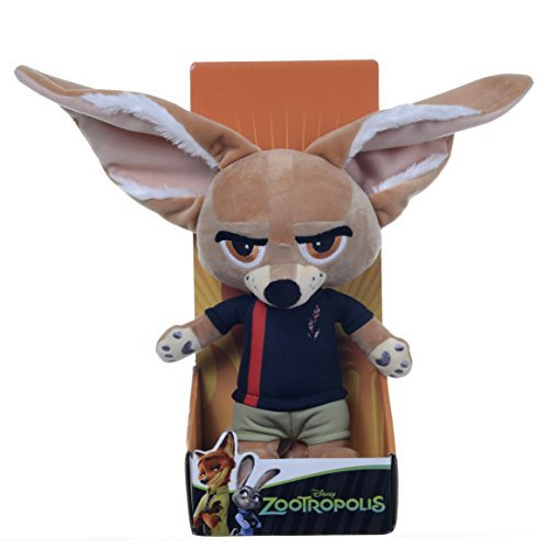 Zootropolis 10-inch Disney Finnick Soft Plush Toy by Posh Paws