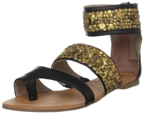 Killah Women's Geraldine Black Ankle Strap M00615-SL9262-G06000 5 UK, 38 EU