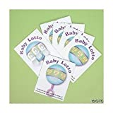24 Baby Shower Lotto Game Cards