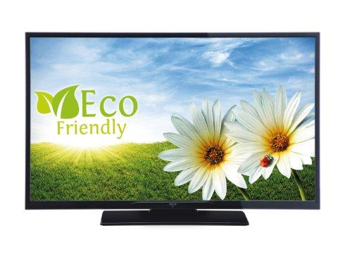 Akai AL4008TBK 101,6 cm (40 Zoll) LED-Backlight-Fernseher, EEK A (Full HD, DVB-T/-C, USB 2.0) matt-schwarz