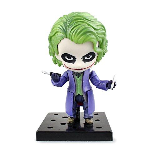 2016 New Nendoroid 566 Joker Villain's Edition Batman Dark Knight Action Figure