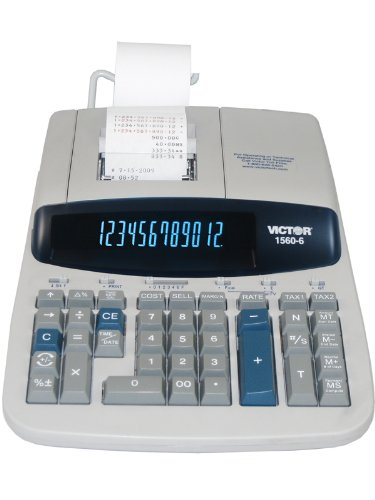 1560-6 Printing Calculator (Commercial Adding Machine compare prices)