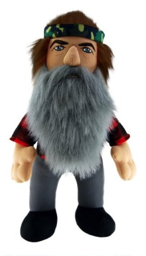 "Duck Dynasty Phil Character 24"" Plush with Sound Toy"