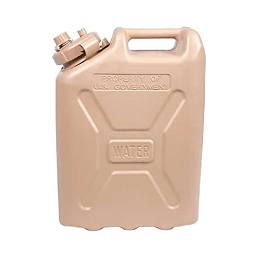LCI Plastic Water Can, Desert Sand (Military Jerry Can compare prices)
