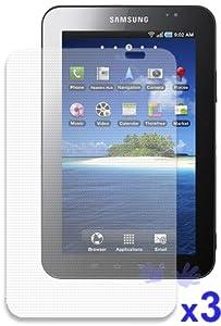 iShoppingdeals - Samsung Galaxy Tab Anti-Fingerprint, Anti-Glare, Matte Finishing Screen Protector -3 Packs