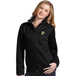 Pittsburgh Pirates Ladies Traverse Jacket (Team Color) by Antigua