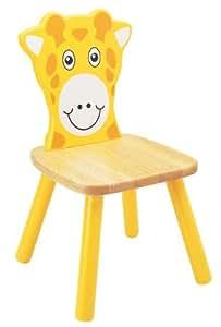 Pintoy sedia in legno per bambini giraffa for Cucina legno bambini amazon