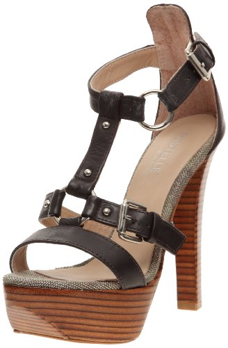 Pastelle Women's Coralie Sandal Brown UK 4