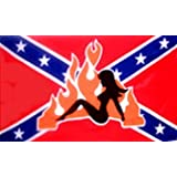 CONFEDERATE FLAG REBEL GIRL ~ Alotta Signs