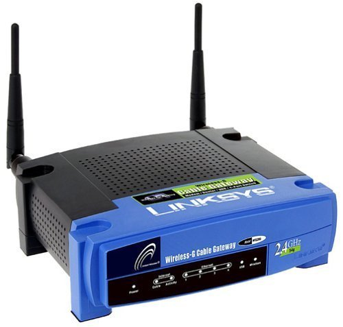 Cisco-Linksys Wireless-G Cable Gateway (WCG200) (Dial Up Modem Router compare prices)