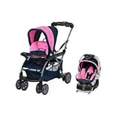 Baby Trend Sit N Stand DX Stroller & Car Seat Travel System