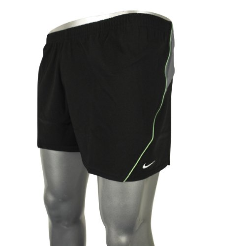 Mens Nike Air Black Swim Swimming Trunks Short Stretch Sports Shorts Beach S