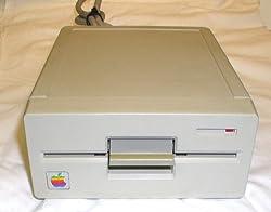 Vintage Apple II Beige 5.25 Disk Drive