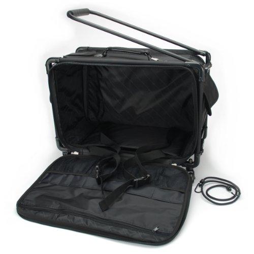 TUTTO Machine On Wheels Case 21X13-1/4X12-Black платье tutto bene tutto bene tu009ewzwn18