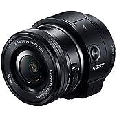 Sony レンズスタイルカメラ QX1 パワーズームレンズキット(ブラック/デジタル一眼) ILCE-QX1L