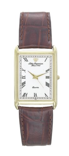 Jules Jurgensen Men's Leather Watch #7444 - Buy Jules Jurgensen Men's Leather Watch #7444 - Purchase Jules Jurgensen Men's Leather Watch #7444 (Jules Jurgensen, Jewelry, Categories, Watches, Men's Watches, Casual Watches, Leather Banded)