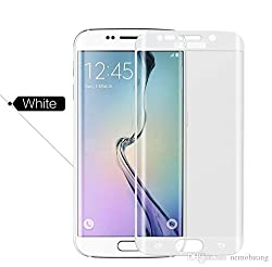 Samsung Galaxy S6 Edge+ Curve Tempered Glass Screen Protector (White)