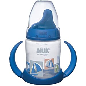 NUK Learner Latex Spout BPA Free Cup, 5 Ounce, Colors May Vary